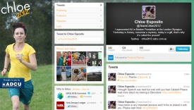 Chloe2012 Twitter Page